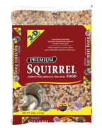 3-D Squirrel Food